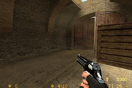 BlackChrome Deagle