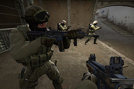M4A1Tech Sudden Attack II