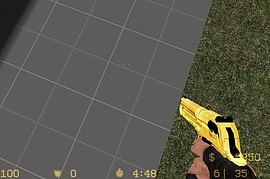 gold+black deagle