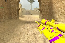 yellow purple awp