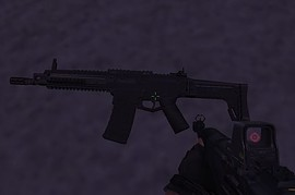 Bishmaster ACR with ironsights