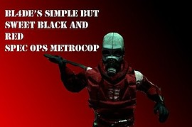 Spec Ops Metrocop (Black and Red)