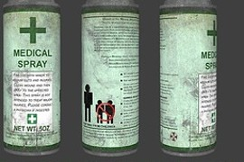 Resident Evil First Aid Spray