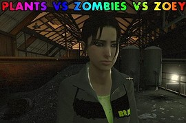 Plants vs Zombies vs Zoey