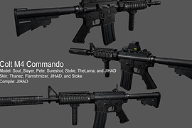 Soul_and_Thanez_M4_Commando_for_M4