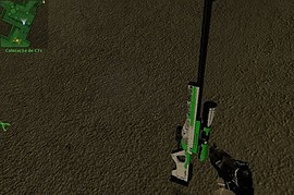 White and green awp