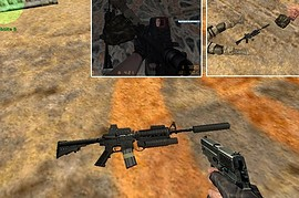 M4A1 Holosight V2
