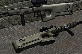 MRC - modular rifle caseless(AUG)