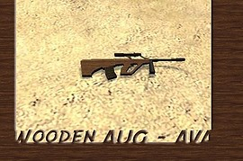 Wooden AUG