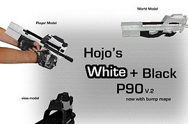 Hojo's White And Black P90 V.2
