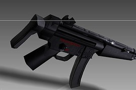 RE Cold Blood Mp5
