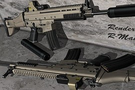 FN SCAR-L W EOTech Holosight