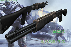 SPAS-12 Imitating MW2