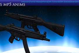 Unknowns MP5 anims for CZ