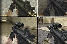 HK-MP7 on MW2-like Animations for CZ