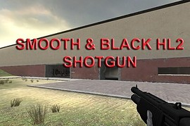 Black HL2 Shotgun (Smooth)