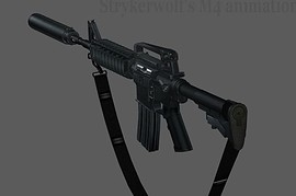 Z7 M4A1 On Strykerwolf Anims