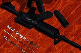 Soul Slayer s M4A1 On Strykerwolf Anims