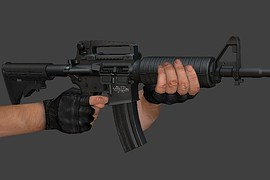 Twinke_Masta_Hi-Poly_Colt_M4A1_Carbine_(New_Stock)