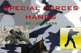 Special Forces hands