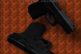 Bullet head s Glock19 On Default Anims