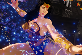 Chunli Wonder Woman Cosplay