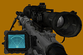 CoD:MW2 Intervention M200