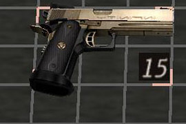 Colt M1911A3 Infinity Dragon Gold
