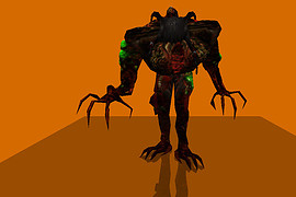 Gonome with HL2 Poison Headcrab