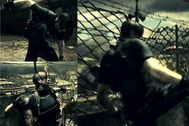 Leon RE4 with Melee Swaps