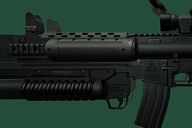 Assault LR300 with M203