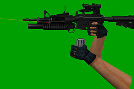 M4A1 Assault Tactic OF
