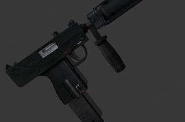 MAC-11 Tactic Silenced