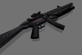 Assault HK MP5SD OF