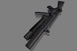 Assault HK MP5SD BS