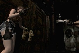 RE0 Rebecca Chambers Cowgirl suit