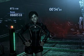 RE0 Rebecca on Wesker Mode Battlesuit