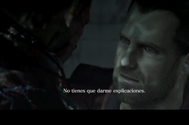 RE5GE Barry Burton