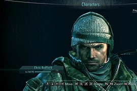 RE6 Chris Face Mini-pack