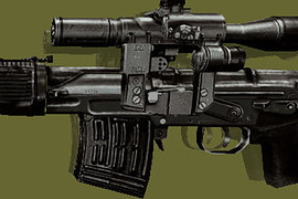 S.T.A.L.K.E.R. SVD Dark brown Reskin