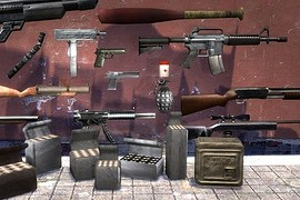 Max Payne Weapons