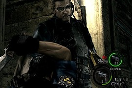Wesker in RE1 S.T.A.R.S. suit