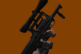 OSHK-1 Groza with scope ACOG