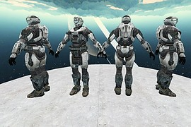 Halo ODST White Pack