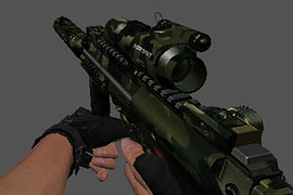 DrakElfa's HK MP7 Camo Green