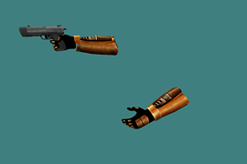 HL2 USP With Half-Life 1 HD hands