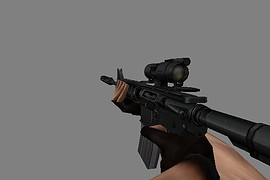 M4A1 with AimPoint Scope