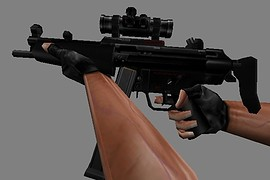 HK MP5 Scoped