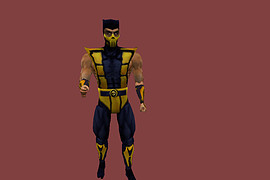 Mortal Kombat 4 Player Models Pack