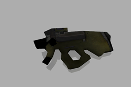 Machinegun from DOOM 3
